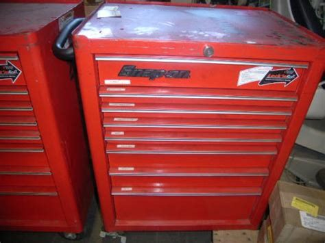 Snap On 8 Drawer Tool Box by 3 Snap On 8 Drawer Rolling Bottom Boxes