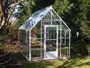 Glass greenhouse kits