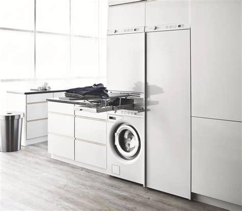 Lavatrice In Cucina Ikea by Lavanderia Integrata In Cucina Ambiente Cucina