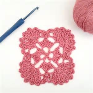 Japanese crochet motif deux brins de maille