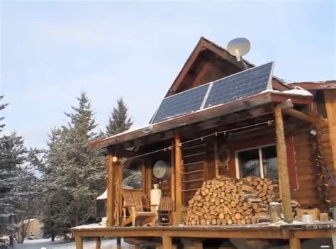 solar powered cabin archives grid world