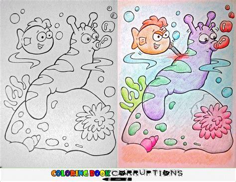 die coloring book corruptions quot coloring book corruptions quot is the best and worst thing to