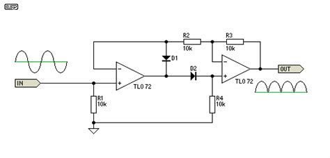 precision diode uses a wave precision rectifier query