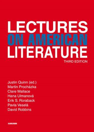 Lectures On Literature lectures on american literature justin quinn ed