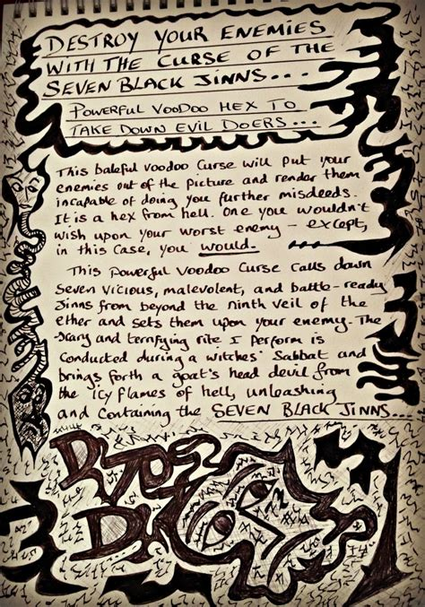 voodoo spell 1000 images about binding banishing on
