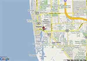 Map Naples Florida by Map Of Naples Bay Resort Naples