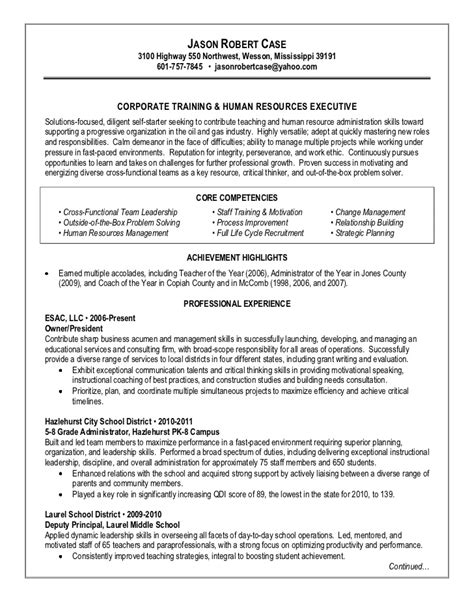 grant writer resume exles