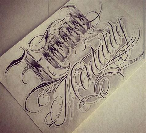 tattoo flash words chicano lettering lettering pinterest chicano
