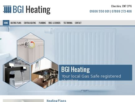 Plumbing In Hshire by Bgi Heating Your Local Gas Safe Registered Plumber In
