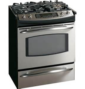 Cooktop Replacement Glass Ge Profile 30 Quot Slide In Gas Range Jgs968sekss Ge