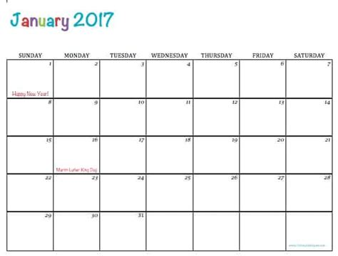 free printable calendar with pictures free printable 2017 calendars free printable 2017 calendars to simply inspire