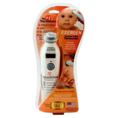 Exergen Comfort Scanner Infrared Thermometer exergen temporal scanner infrared thermometer target