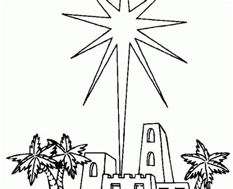 coloring page of the christmas star christmas star coloring pages wallpapers9