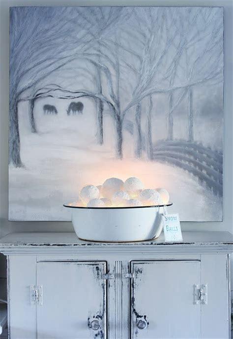 32 cute snowball d 233 cor ideas for winter holidays digsdigs