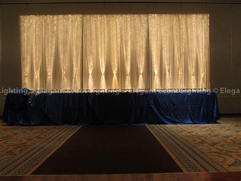 lights backdrop fabric backdrops event lightingelegant event