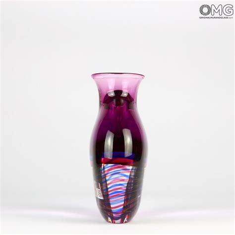 vaso viola vasi soffiati assortimento vaso mago viola sommerso