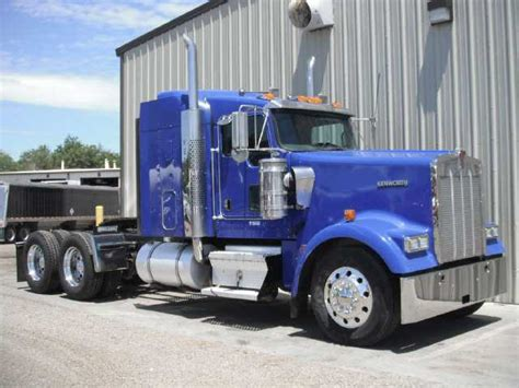 2007 Kenworth Tractor Truck W Sleeper W900 For Sale Price
