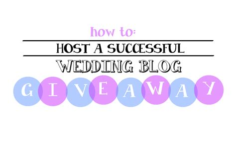 Wedding Blog Giveaways - how to run a wedding blog giveaway wedding day giveaways