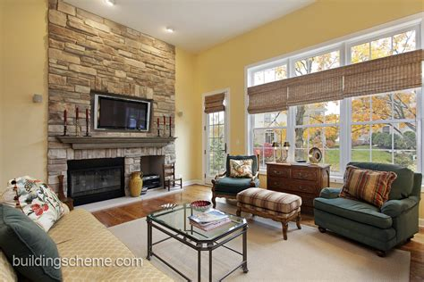 How To Arrange Living Room Furniture With Fireplace And Tv How To Place Furniture In A Living Room With Fireplace Living Room