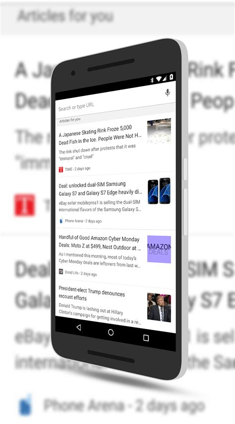 chrome for android chrome for android personalized content clintonfitch