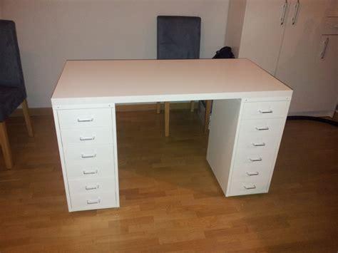 Desk Used As Vanity