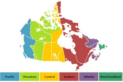 canadian map time zones iqaluit whitehorse yellowknife city ha