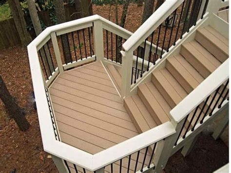 Building Stairs With A Landing how to build deck stairs with a landing ferodoor back deck stairs deck stairs