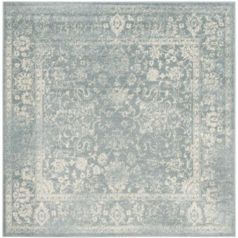 8 Foot Square Area Rug Safavieh Adirondack Slate Ivory 8 Ft X 8 Ft Square Area
