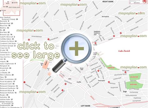 swiss bank location zurich maps top tourist attractions free printable