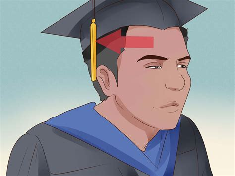 what to put on a how to put on academic robes for a graduation ceremony 13