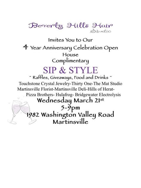 the mat martinsville nj beverly hair studio 4 year anniversary themat