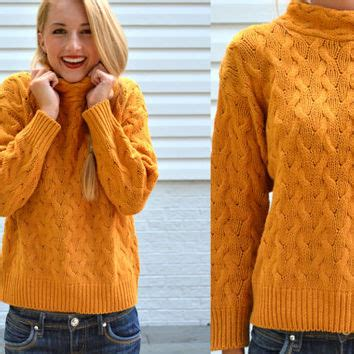mustard color sweater best mustard yellow sweater products on wanelo