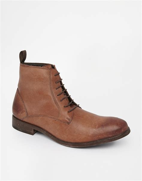 aldo brown boots aldo boots in brown for lyst