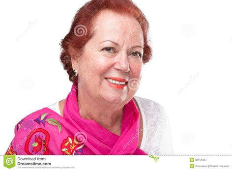 older women with red hair older woman with red hair royalty free stock photography