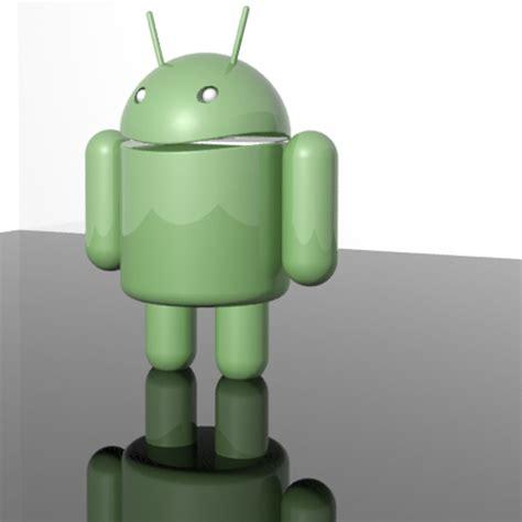 android mascot android mascot 3d model max cgtrader