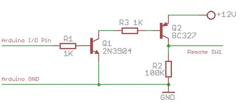 pnp transistor led switch arduino refuse to switch pnp transistor