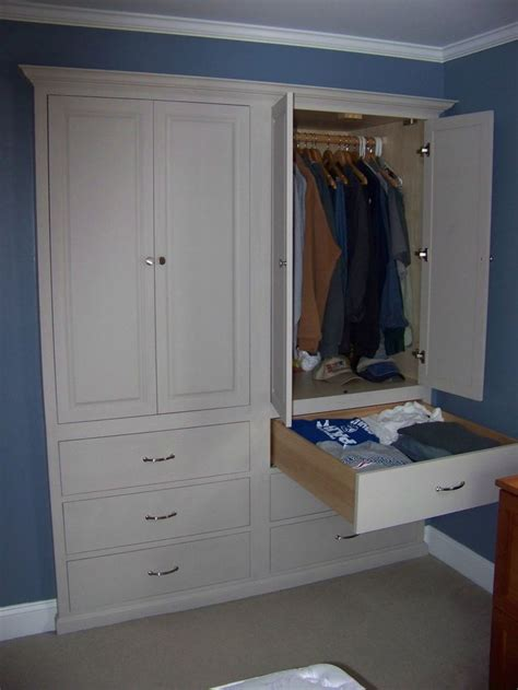 Storage Closets With Doors Best 25 Built In Dresser Ideas On Pinterest Ikea Built In Wardrobes Attic Bedroom Closets