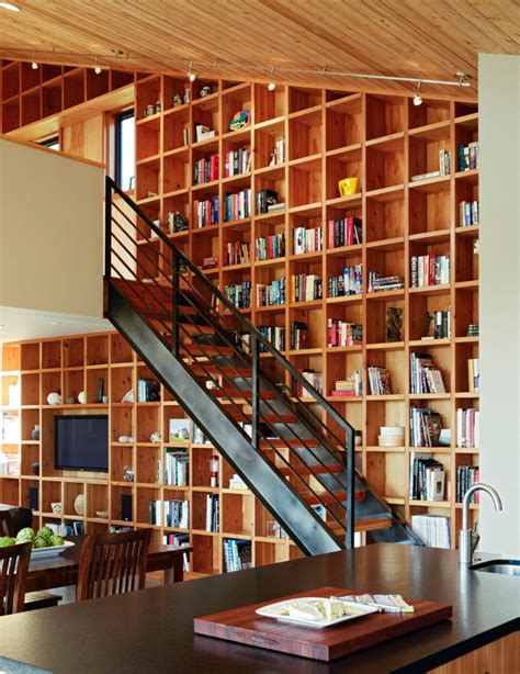 library staircase 20 ways to turn stairs into an amazing bookshelf library