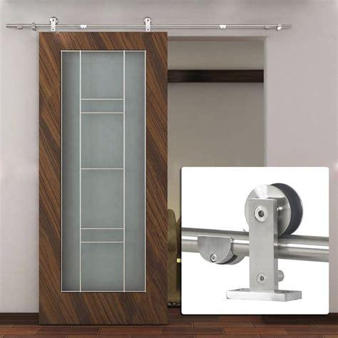 interior barn doors with glass interior frosted glass barn doors door design