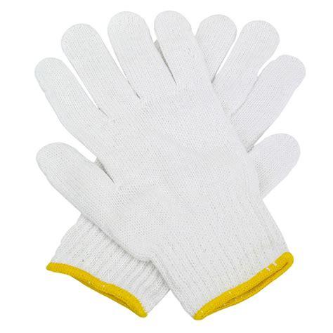 String Knit Gloves 6 Pr