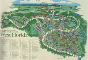 University Of Florida Map by Pics Photos 599 University Of West Florida