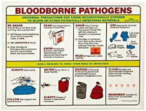 Bloodborne Pathogens Policy Template by Industrial Scientific Packaging Shipping Supplies Label