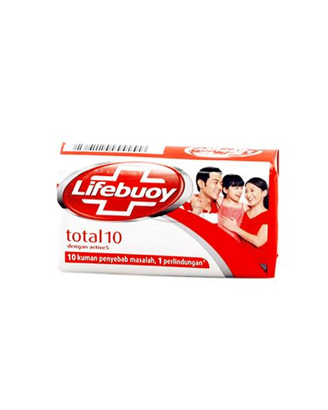 Sabun Mandi lifebuoy sabun mandi batang total protection bar 80g