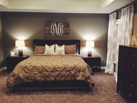 bedroom wall decor ideas neutral bedroom with pallet monogram for our home