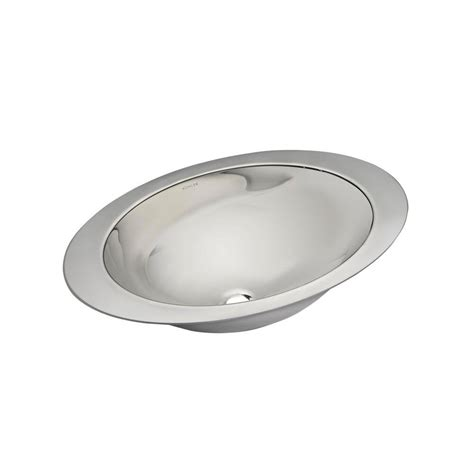 undermount stainless steel bathroom sink kohler rhythm undermount stainless steel bathroom sink in