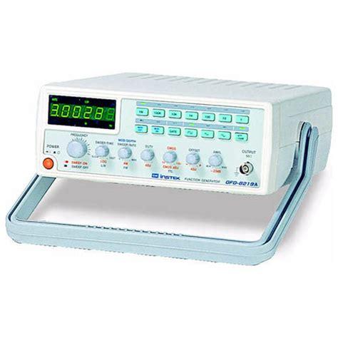 Gw Instek Gfg 8219a Gfg 8219a 8219 A instek gfg 8219a 3 mhz sweep function generator at the test equipment depot
