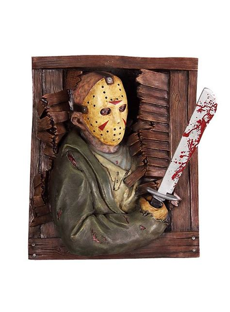 Friday 13th Decorations by Friday The 13th Jason Wall Decoration