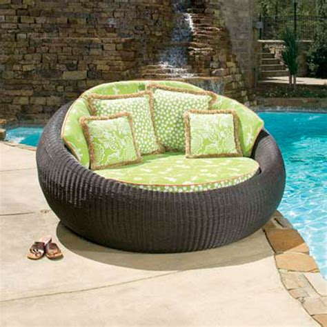 Outdoor Chaise Lounge Sofa Outdoor Chaise Lounge Sofa Wicker Chaise Lounge With Cushions For Outdoor Decofurnish