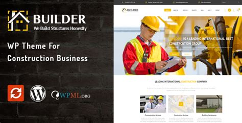theme maker wordpress builder wp theme for construction business by wow themes