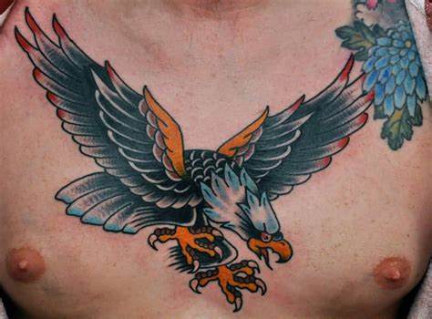 old school eagle tattoo designs 40 school eagle tattoos